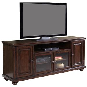 Four-Door Entertainment TV Stand
