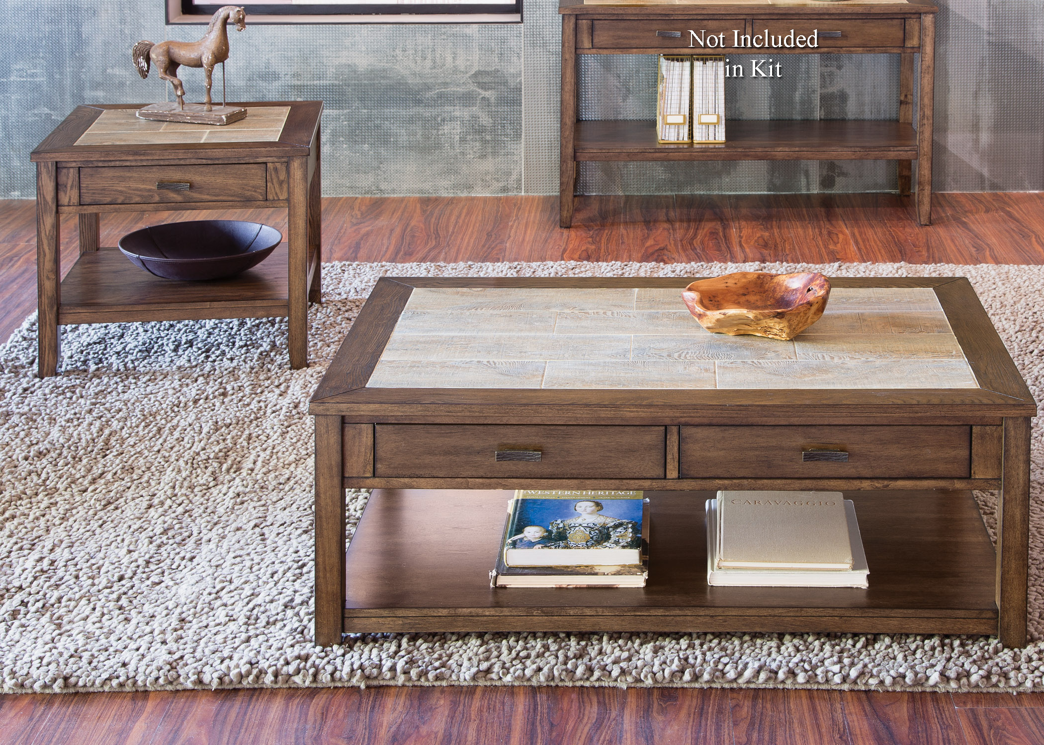 Mesa Valley Occasional 3 Piece Occasional Set by Liberty Furniture at Darvin Furniture
