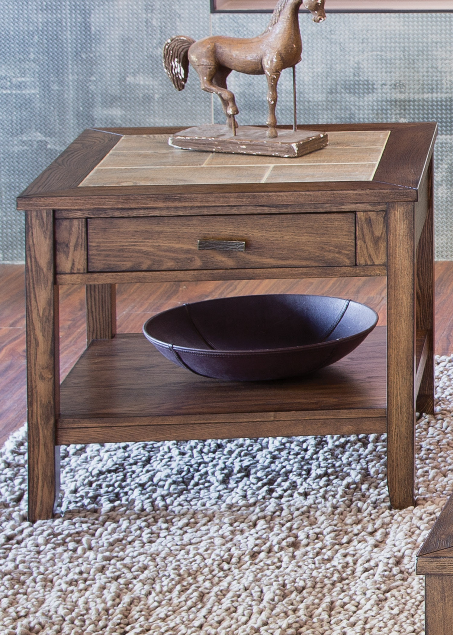 Mesa Valley Occasional End Table by Liberty Furniture at Johnny Janosik