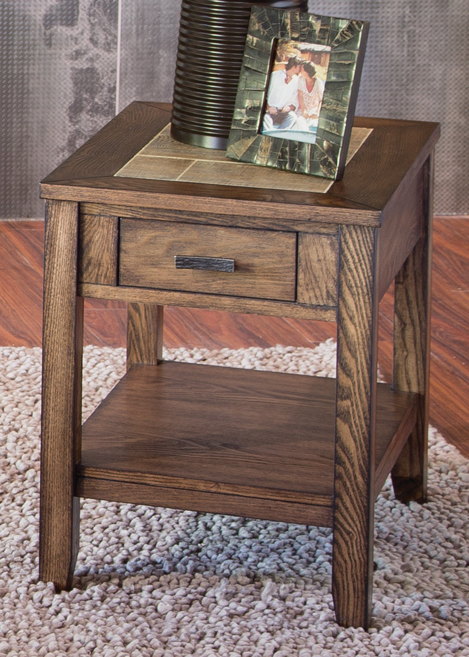 Mesa Valley Occasional Chair Side Table by Liberty Furniture at Darvin Furniture
