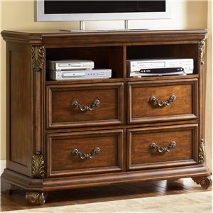 Entertainment Chest w/ 4 Drawers