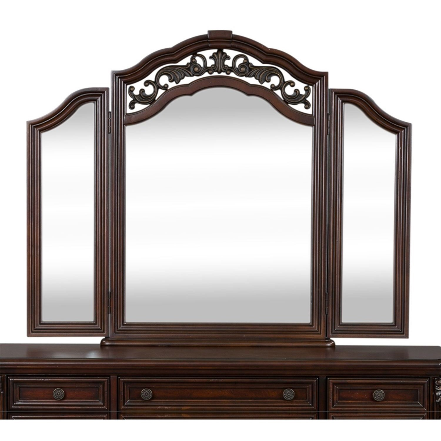 Messina Estates Vanity Mirror by Liberty Furniture at Northeast Factory Direct