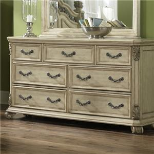 Liberty Furniture Messina Estates II 7 Drawer Dresser