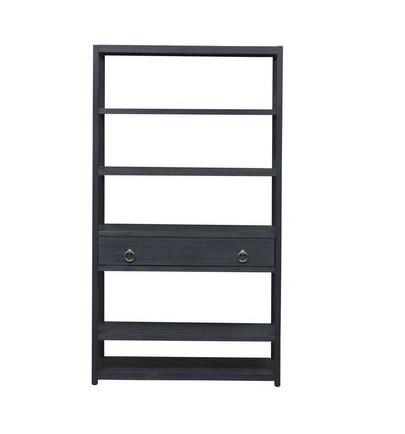 Midnight Accent Bookcase by Freedom Furniture at Ruby Gordon Home
