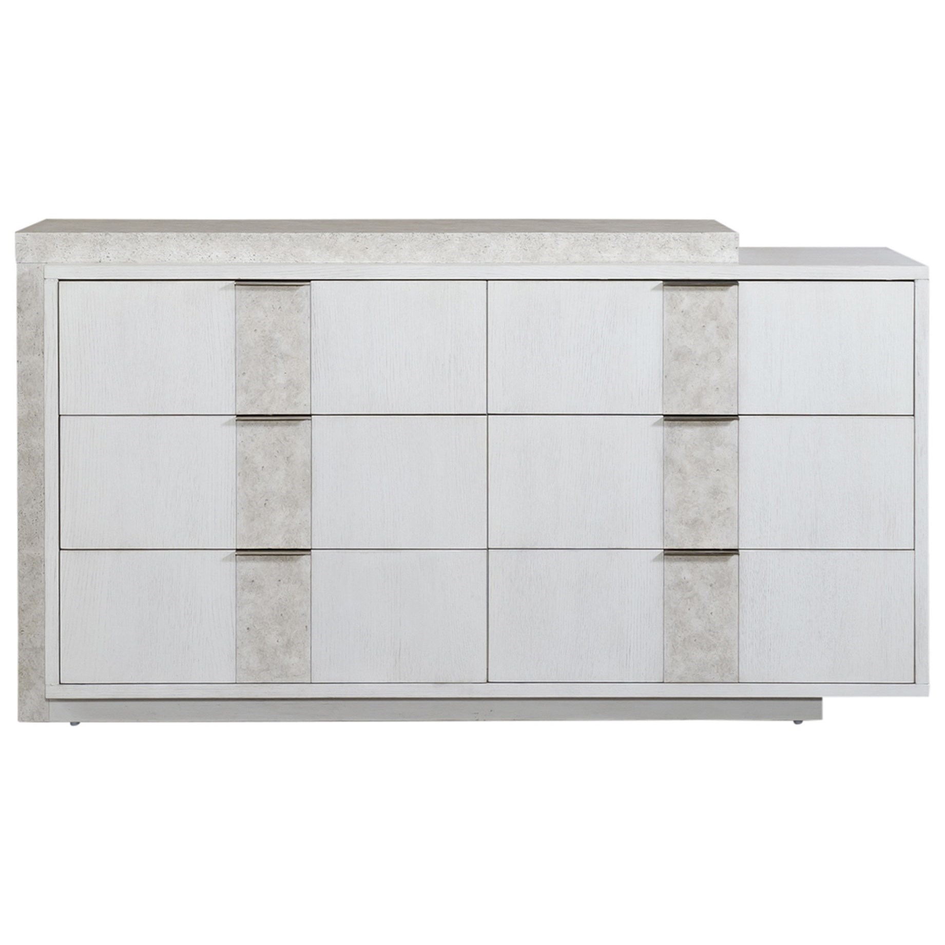 Mirage - 946 6-Drawer Dresser by Libby at Walker's Furniture