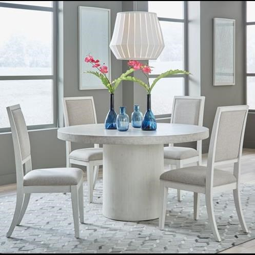 Mirage - 946 5-Piece Dining Set by Libby at Walker's Furniture