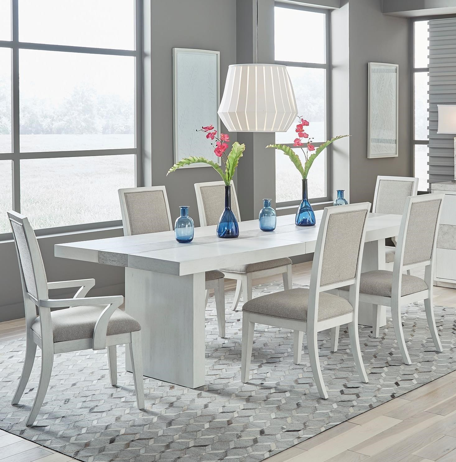 Mirage - 946 7-Piece Dining Set  by Libby at Walker's Furniture