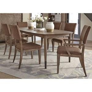 7 Piece Oval Table Set