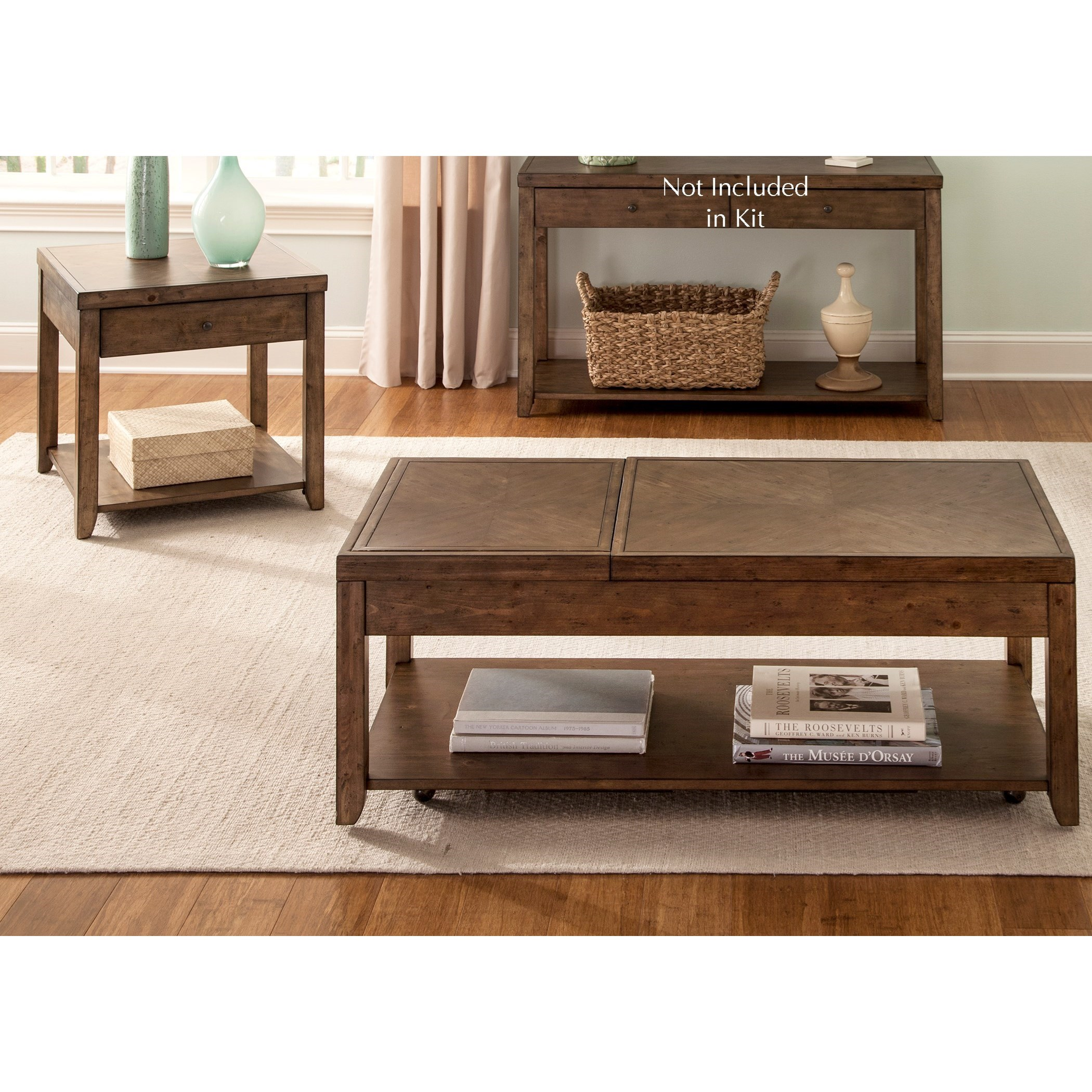Mitchell Occasional 3 Piece Occasional Group by Liberty Furniture at Northeast Factory Direct