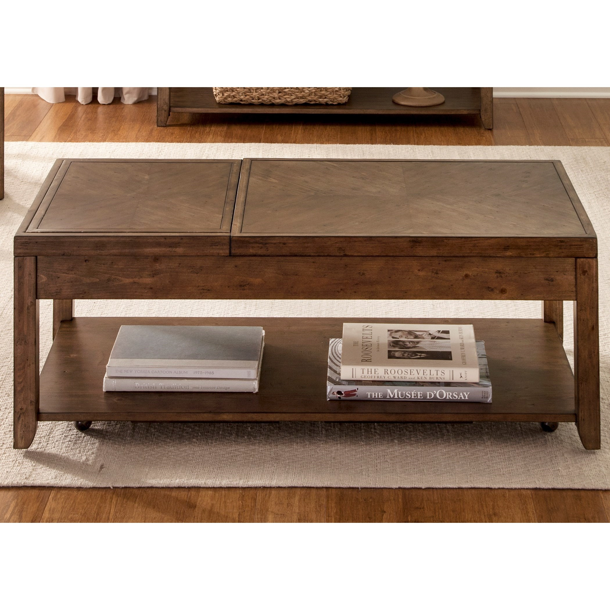 Marley Cocktail Table by Libby at Walker's Furniture
