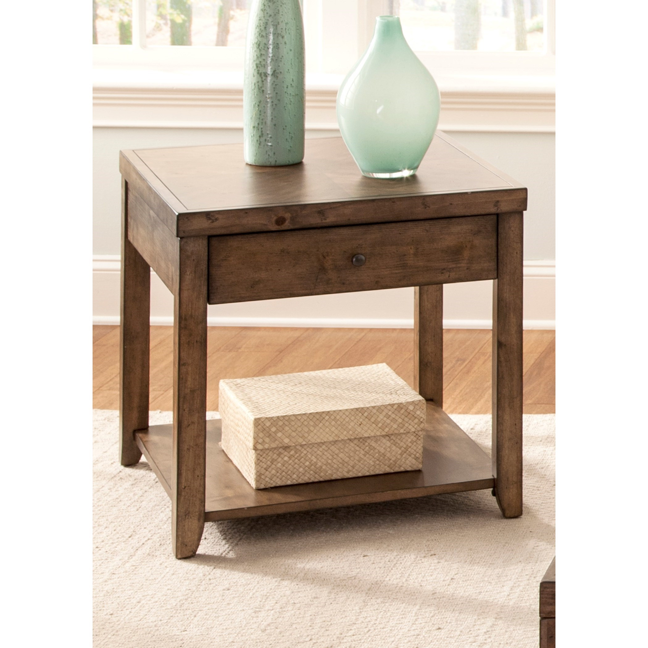 Marley End Table by Libby at Walker's Furniture