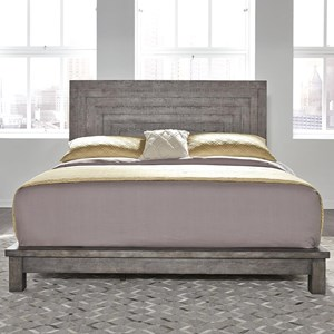Contemporary King Platform Bed