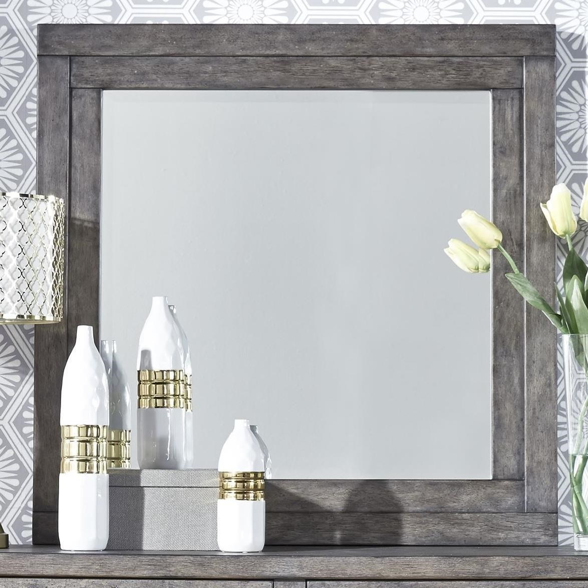 Modern Farmhouse Mirror by Libby at Walker's Furniture