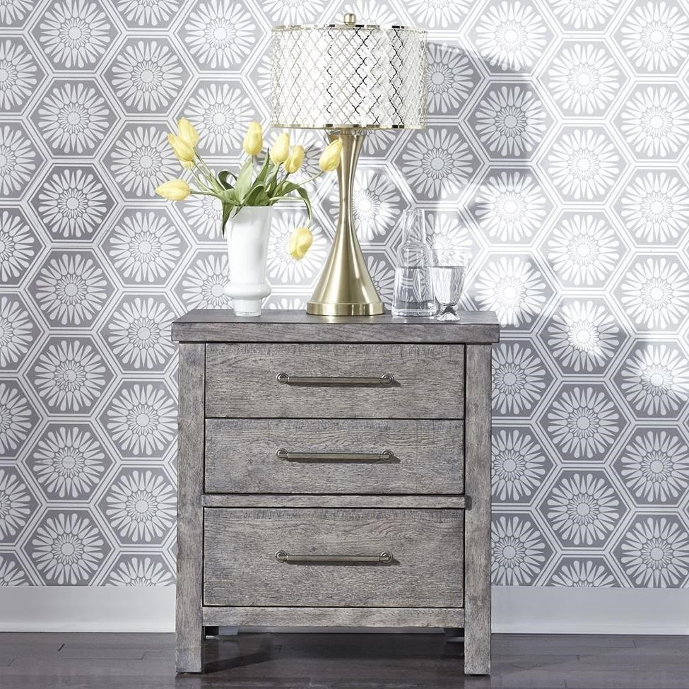 Modern Farmhouse Nightstand by Liberty Furniture at Darvin Furniture
