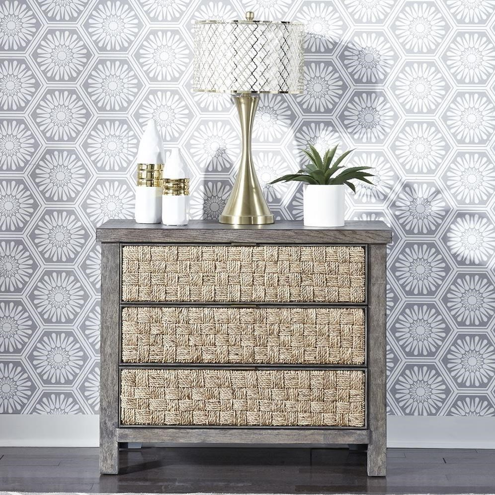 Modern Farmhouse Nightstand by Liberty Furniture at Northeast Factory Direct