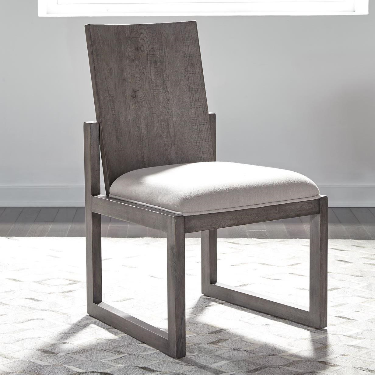 Modern Farmhouse Panel Back Side Chair by Liberty Furniture at Northeast Factory Direct
