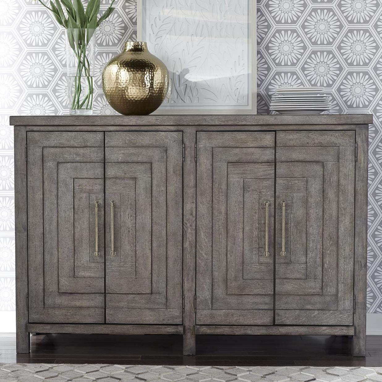 Modern Farmhouse Buffet by Liberty Furniture at Beck's Furniture
