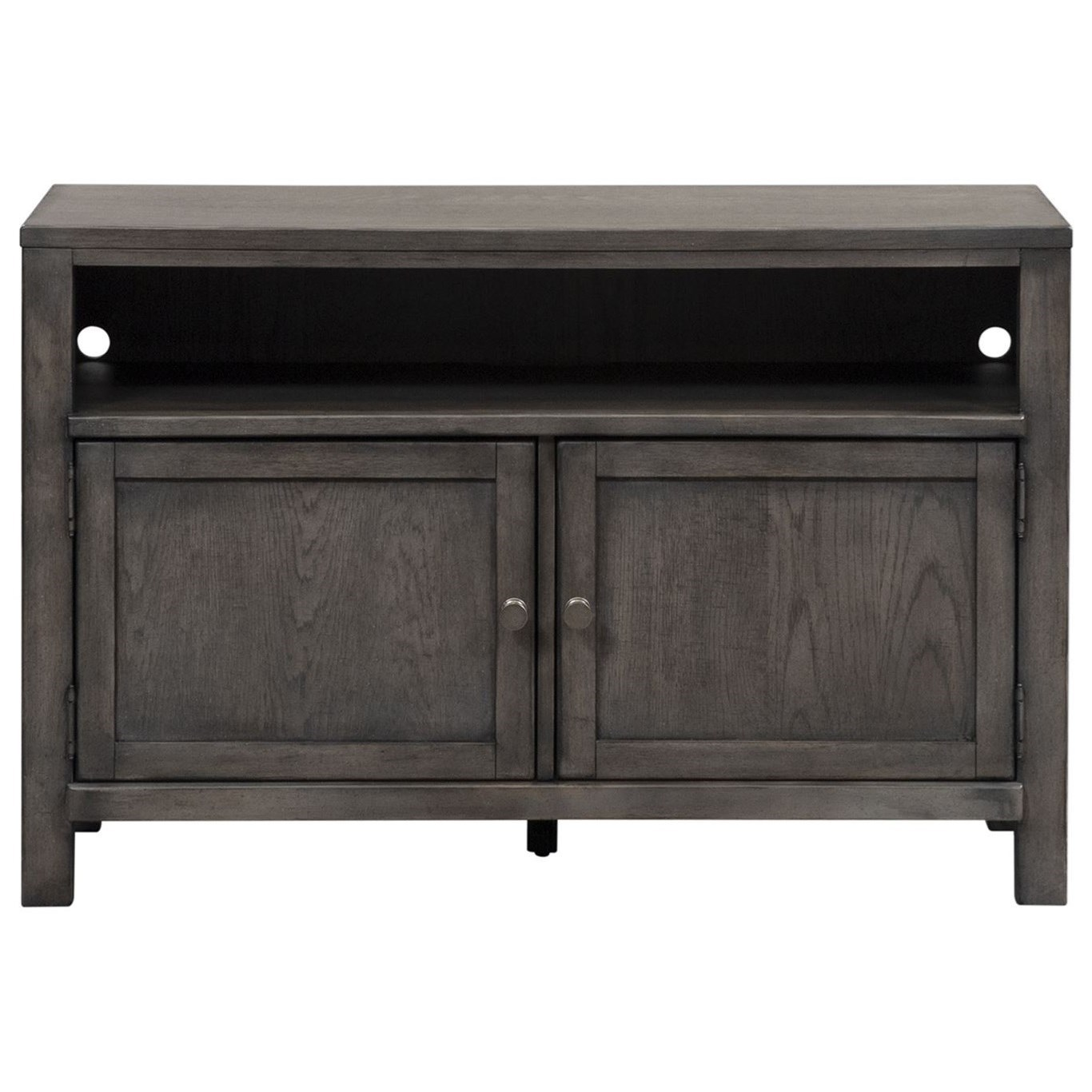 """Modern Farmhouse 46"""" Entertainment Console by Libby at Walker's Furniture"""