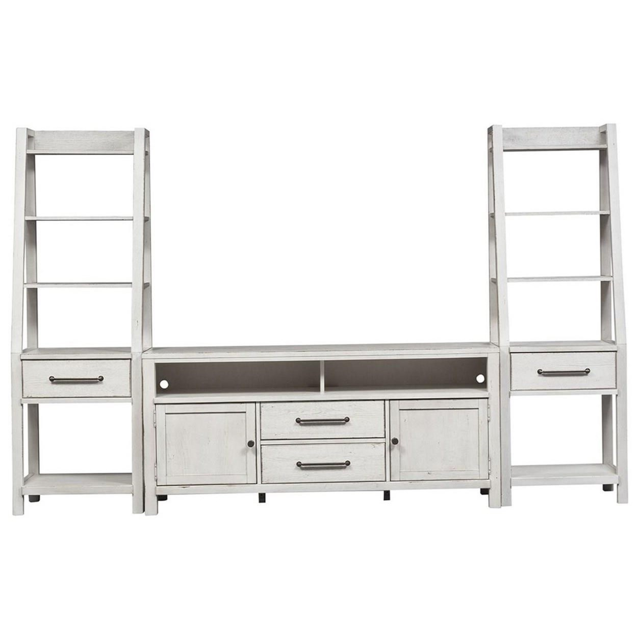 Modern Farmhouse Entertainment Center with Piers by Libby at Walker's Furniture