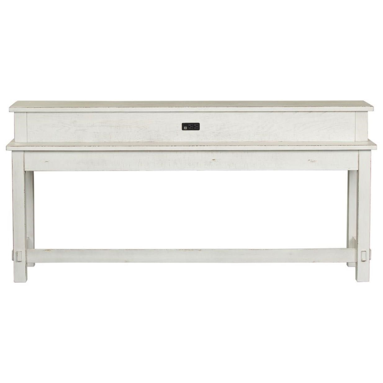 Modern Farmhouse Console Table by Libby at Walker's Furniture