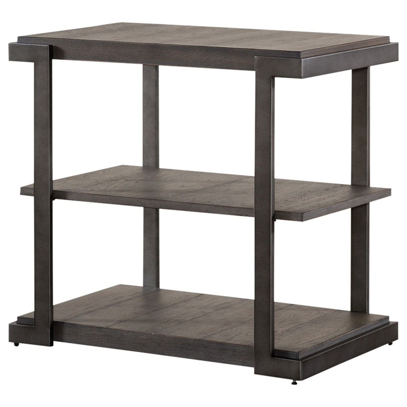 Modern View Tiered End Table by Freedom Furniture at Ruby Gordon Home