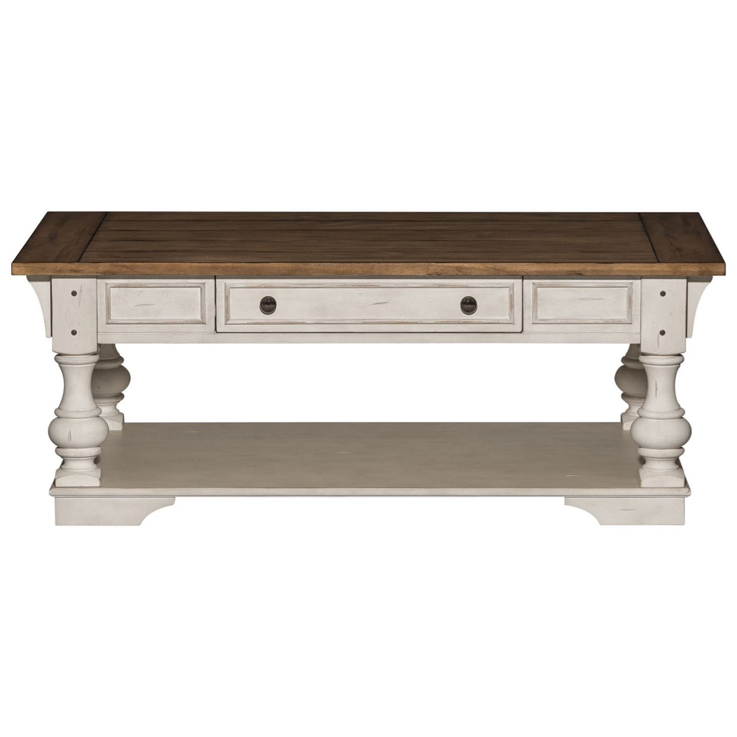 Morgan Creek Cocktail Table by Liberty Furniture at Northeast Factory Direct