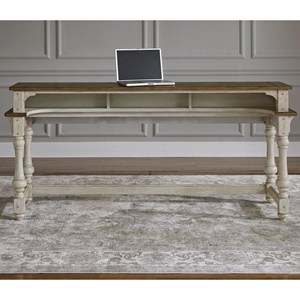 Relaxed Vintage Console Table with Storage