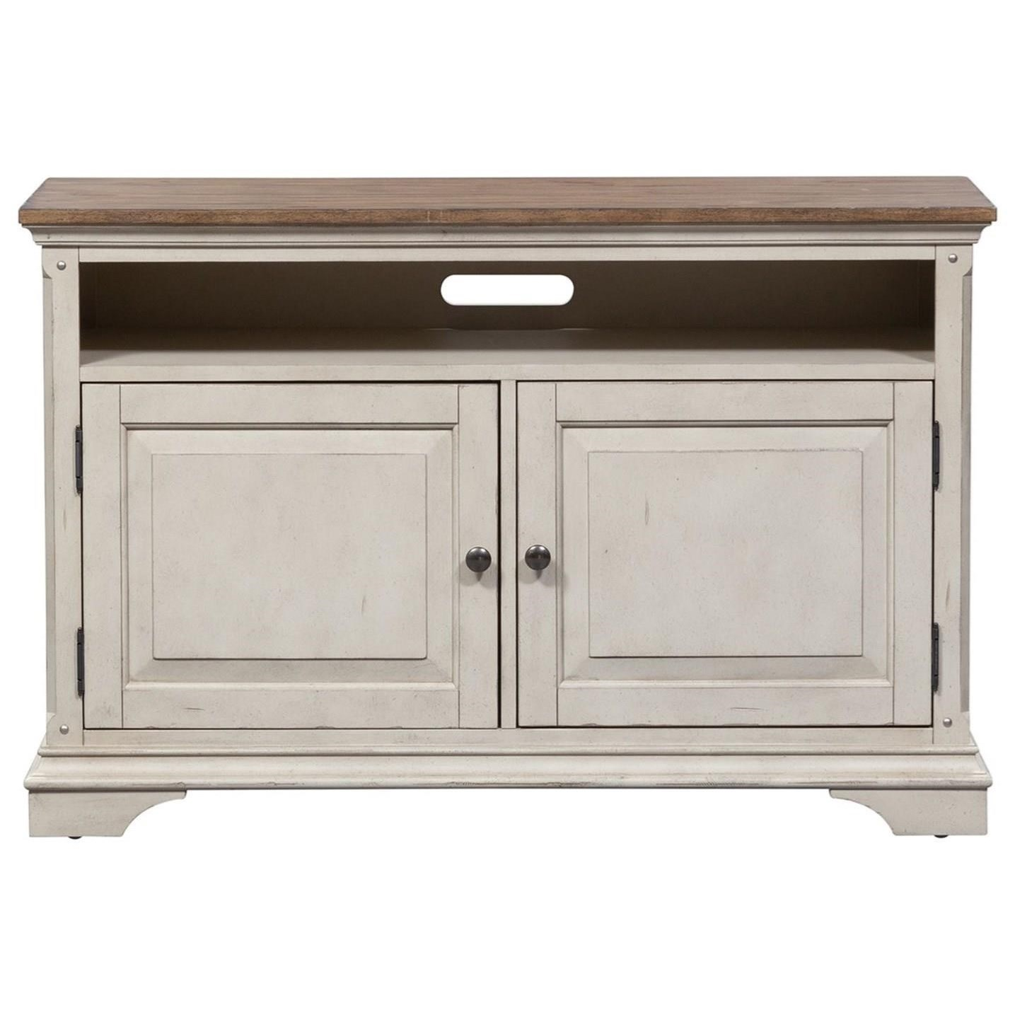 Morgan Creek 46 Inch TV Console by Liberty Furniture at Northeast Factory Direct