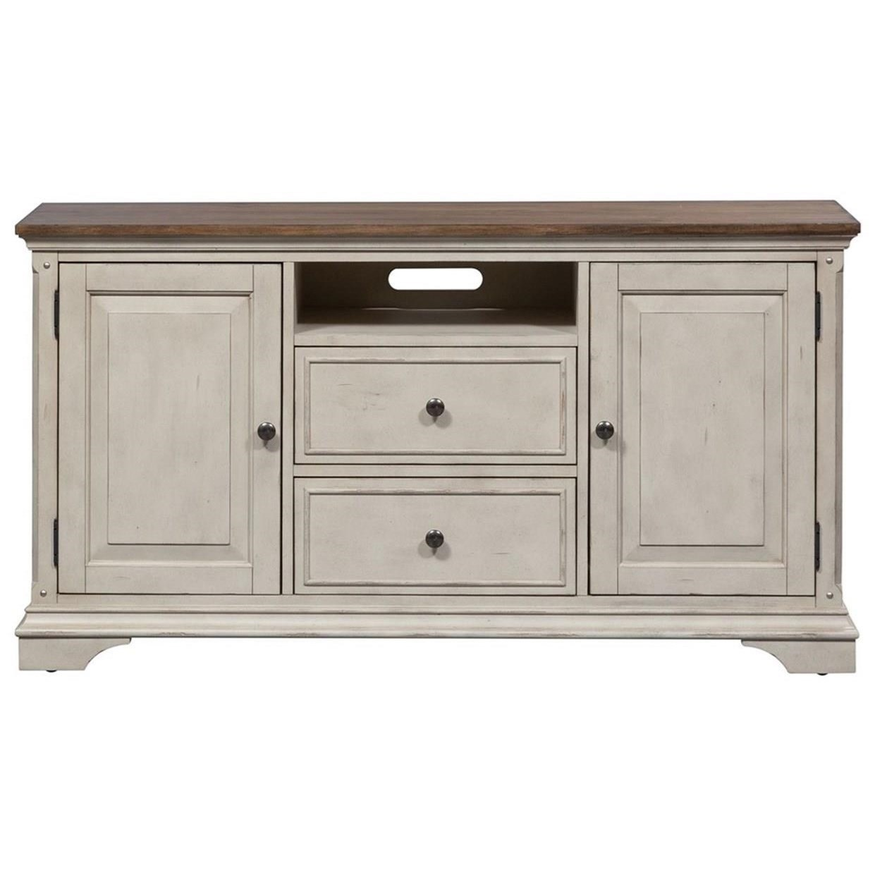 Morgan Creek 56 Inch TV Console by Libby at Walker's Furniture