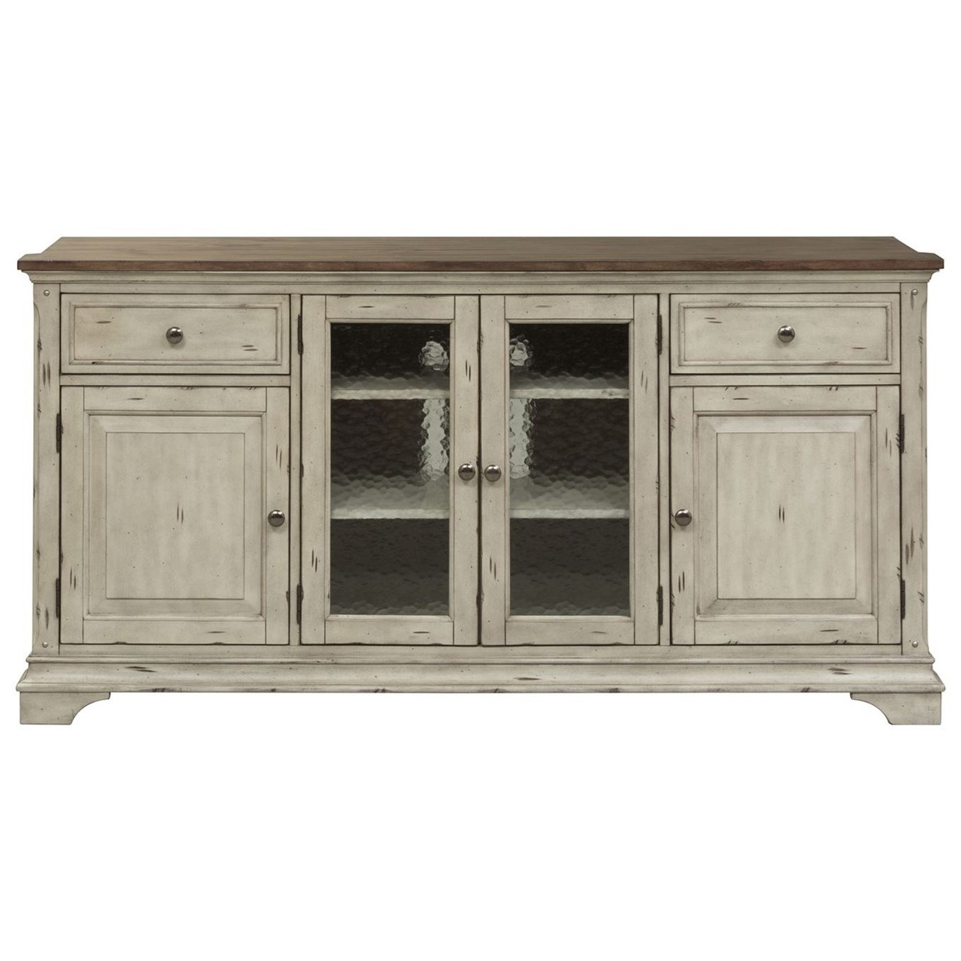 Morgan Creek Entertainment TV Stand by Libby at Walker's Furniture