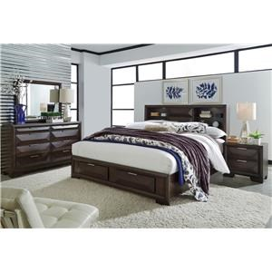 4-Piece Queen Storage Bedroom Set