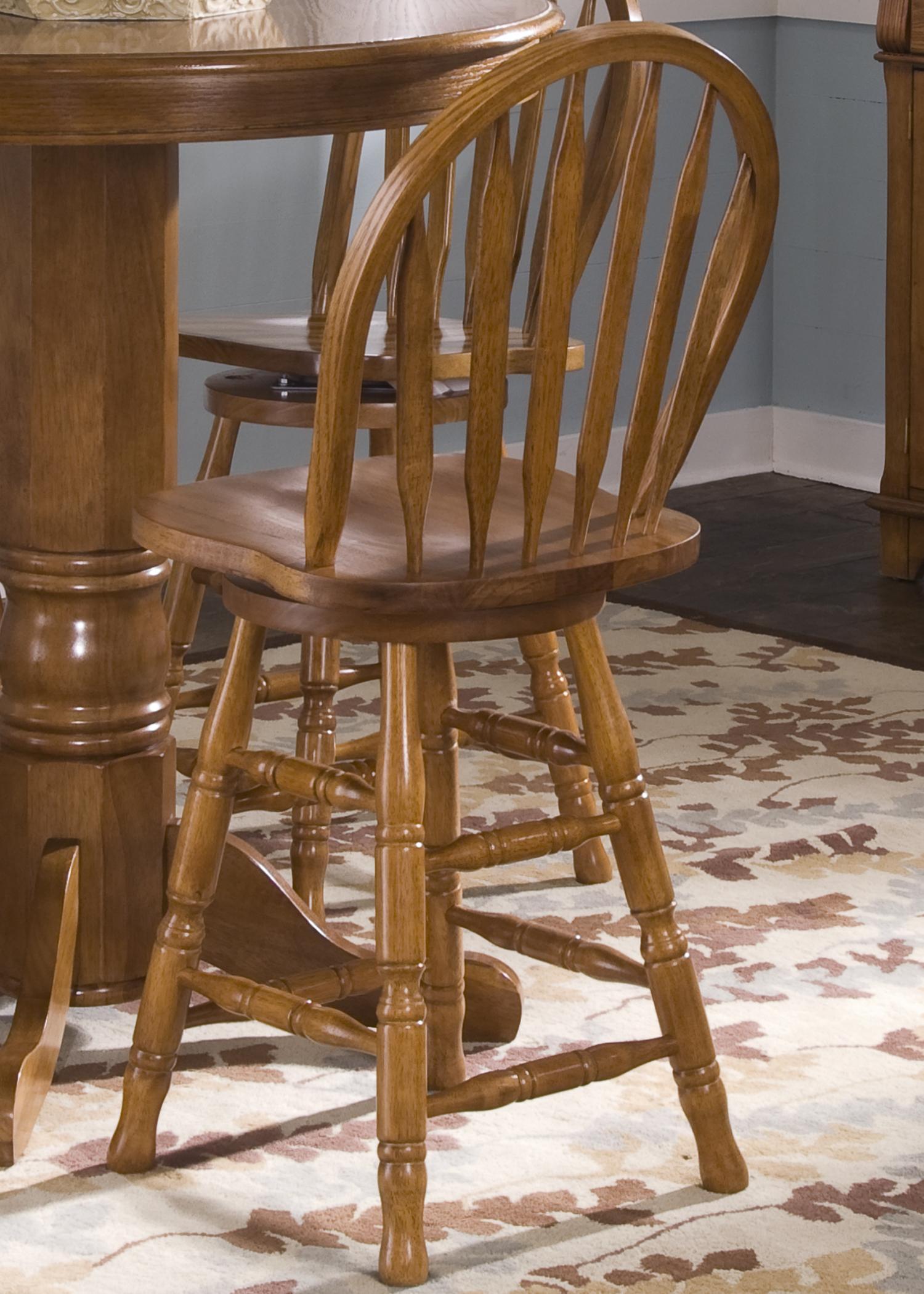 Nostalgia  24 Inch Barstool by Liberty Furniture at Lapeer Furniture & Mattress Center