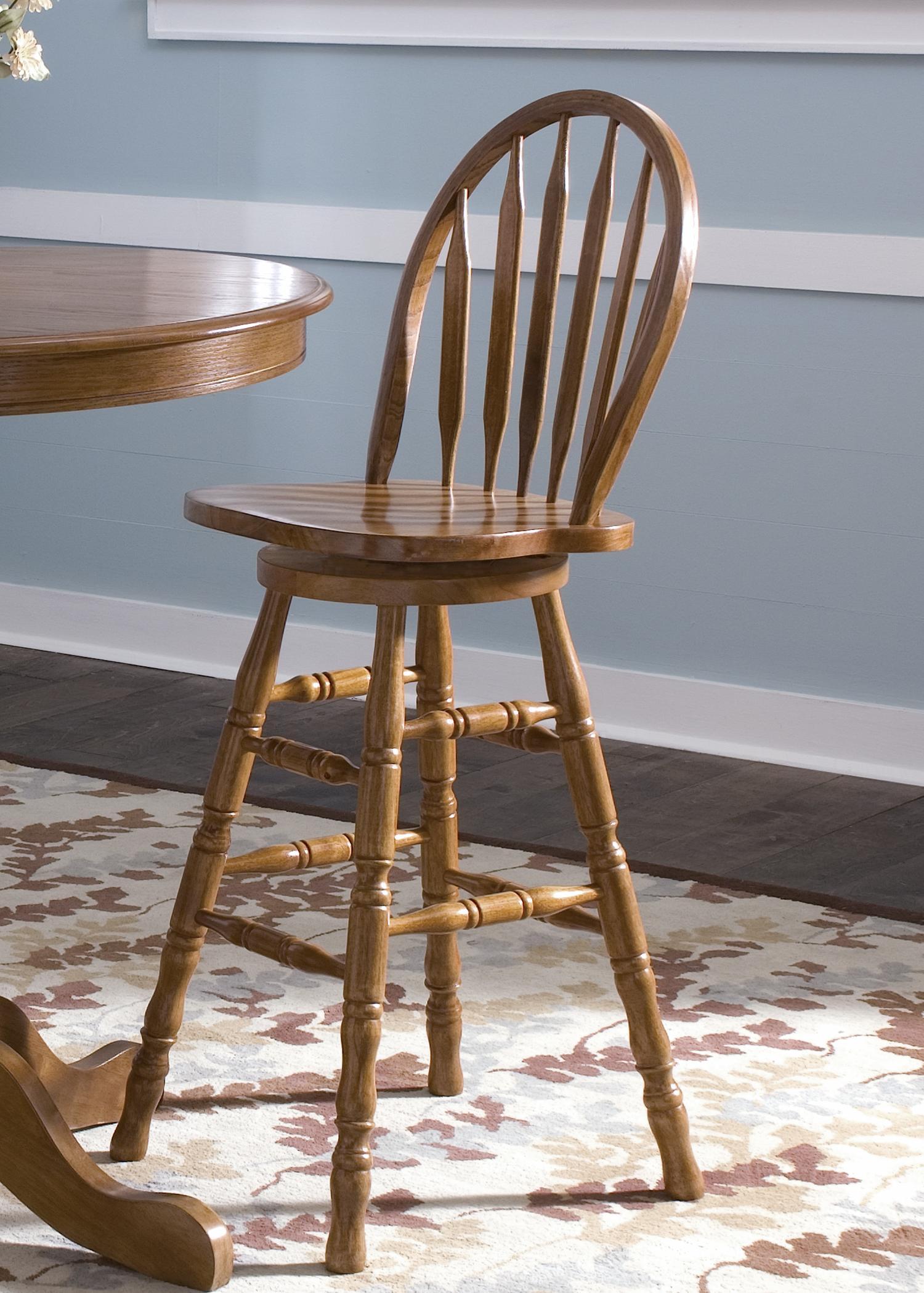 Nostalgia  30 Inch Barstool by Liberty Furniture at Lapeer Furniture & Mattress Center