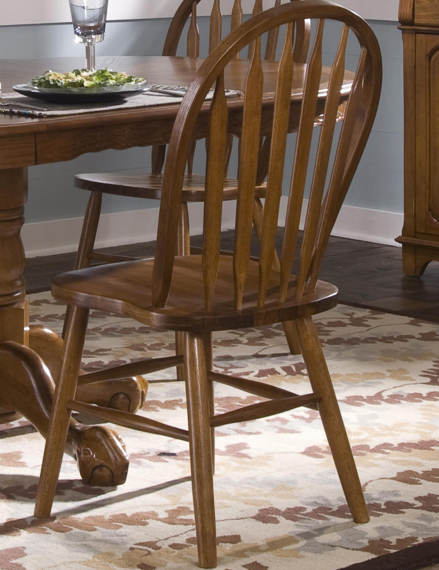 Nostalgia  Arrow Back Windsor Side Chair by Liberty Furniture at Lapeer Furniture & Mattress Center