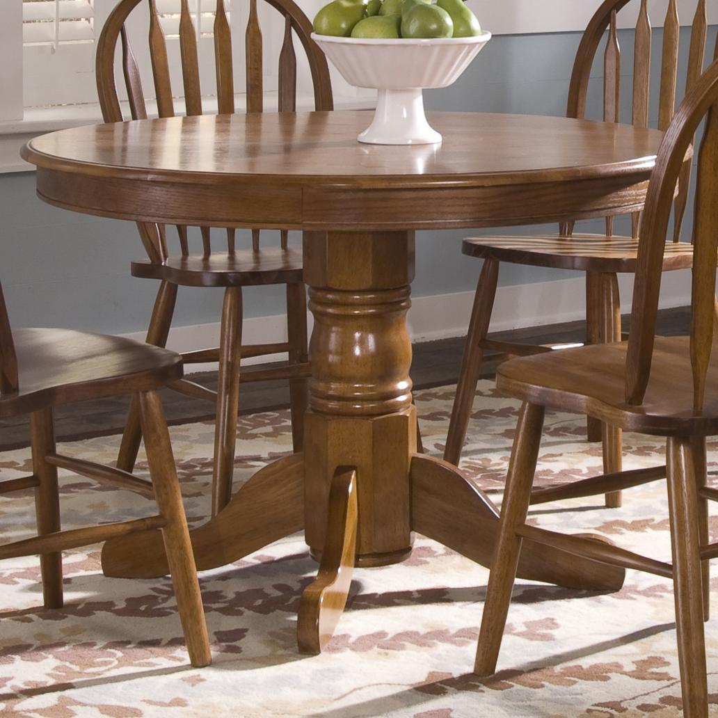 Nostalgia  Round Pedestal Table by Liberty Furniture at Lapeer Furniture & Mattress Center