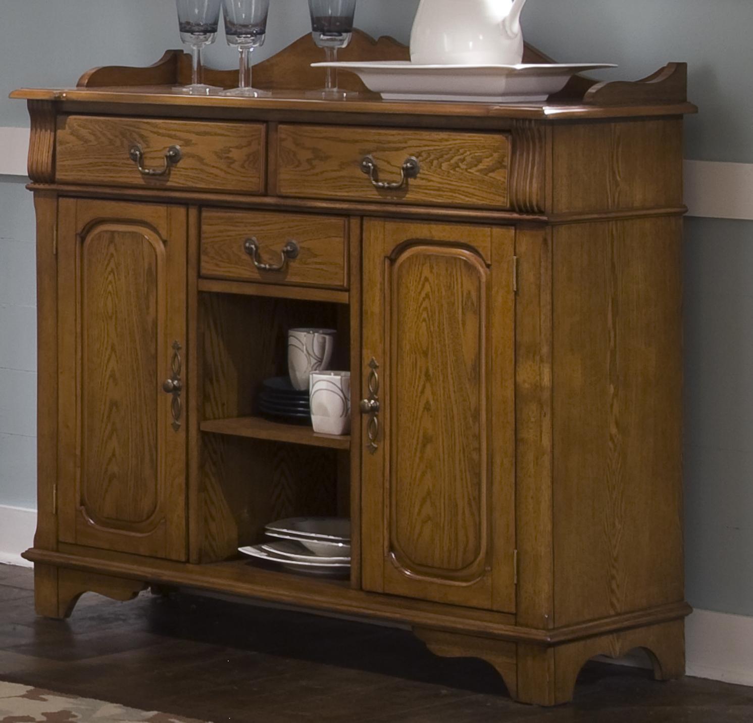 Nostalgia  Server by Liberty Furniture at Lapeer Furniture & Mattress Center