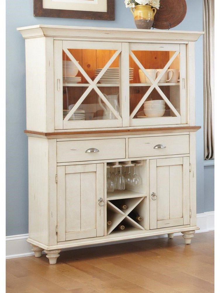Ocean Isle Buffet And Hutch by Liberty Furniture at Darvin Furniture