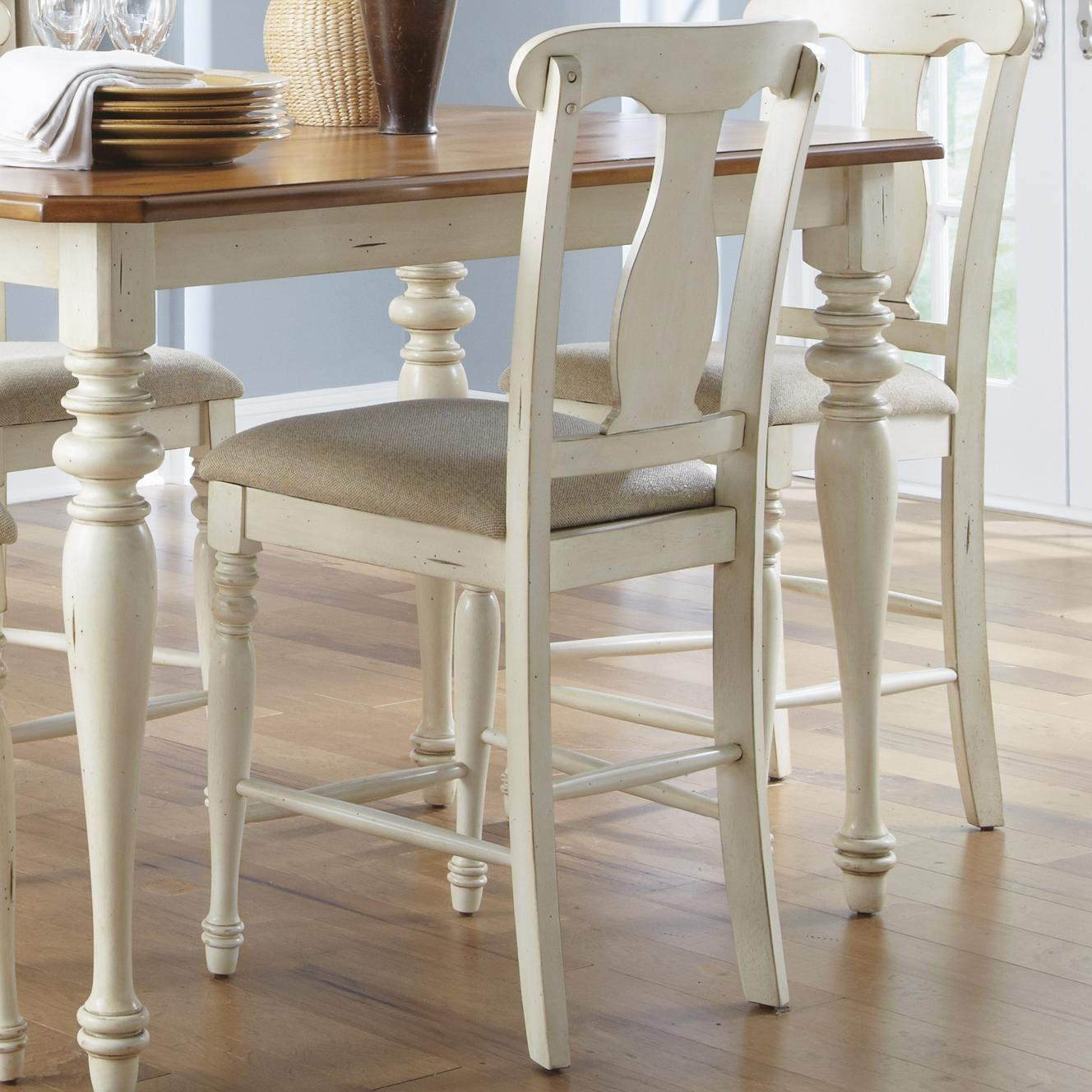 Ocean Isle  Counter Height Stool by Liberty Furniture at Lapeer Furniture & Mattress Center