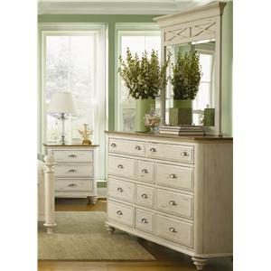 11 Drawer Dresser & Mirror Combo
