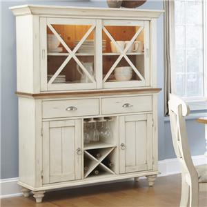 Liberty Furniture Ocean Isle  Hutch & Buffet