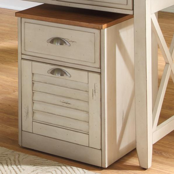 Ocean Isle  Mobile File Cabinet by Liberty Furniture at Lapeer Furniture & Mattress Center