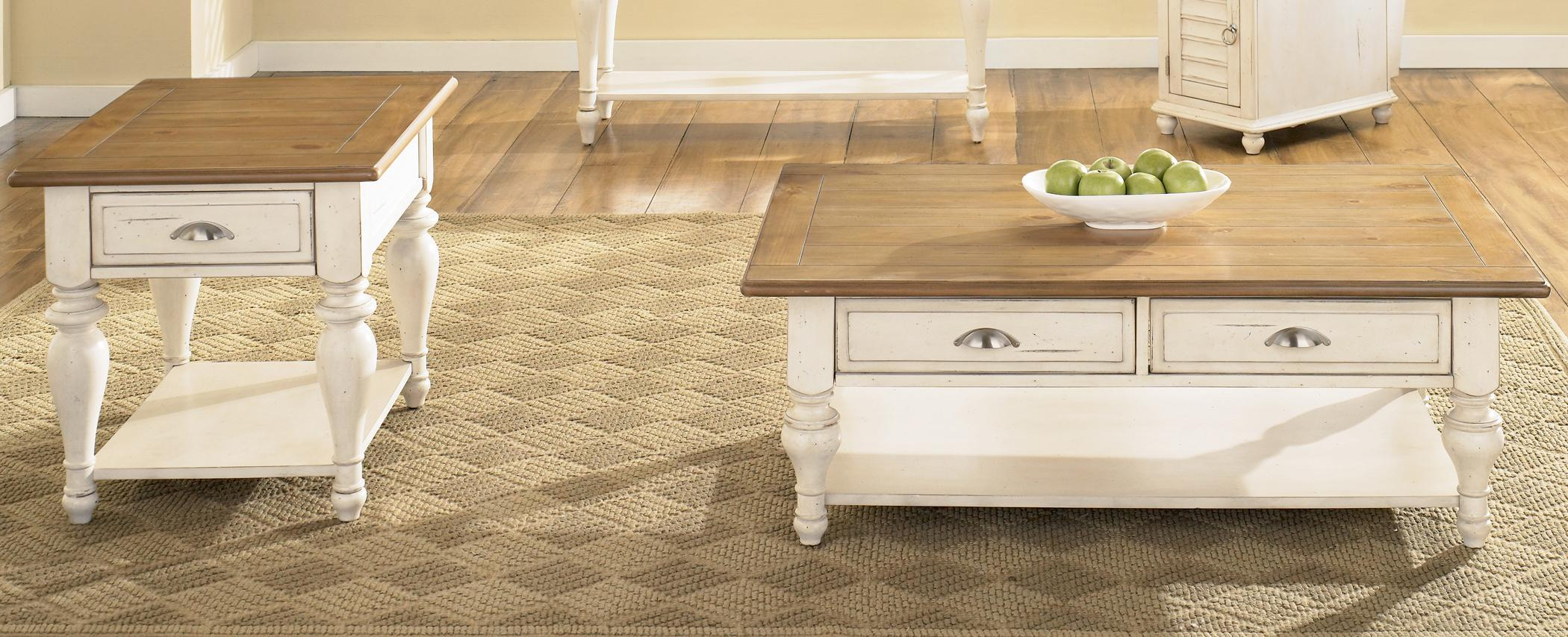 Ocean Isle  3 Piece Occasional Table Set by Liberty Furniture at Lapeer Furniture & Mattress Center