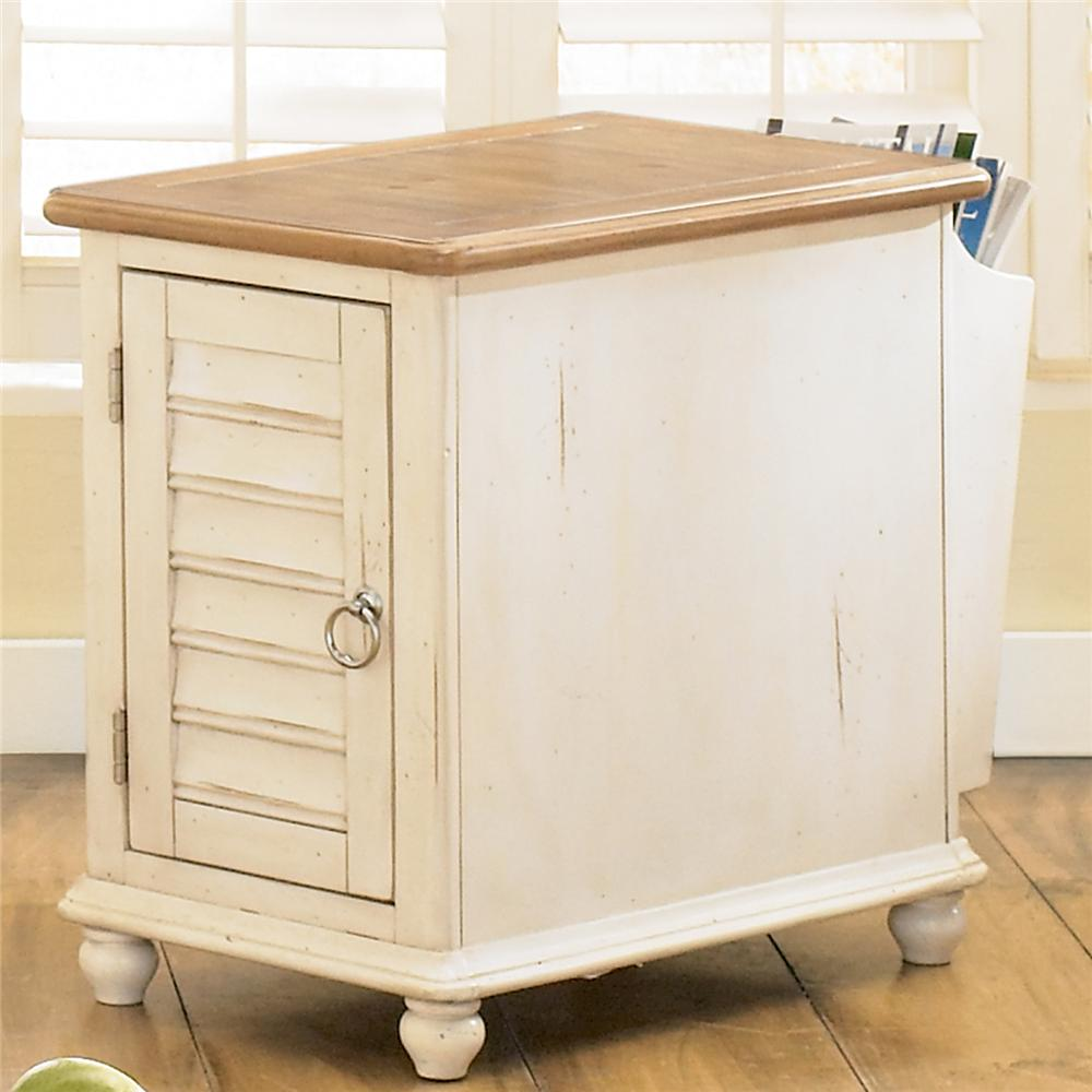 Ocean Isle  Chairside Table by Liberty Furniture at Lapeer Furniture & Mattress Center