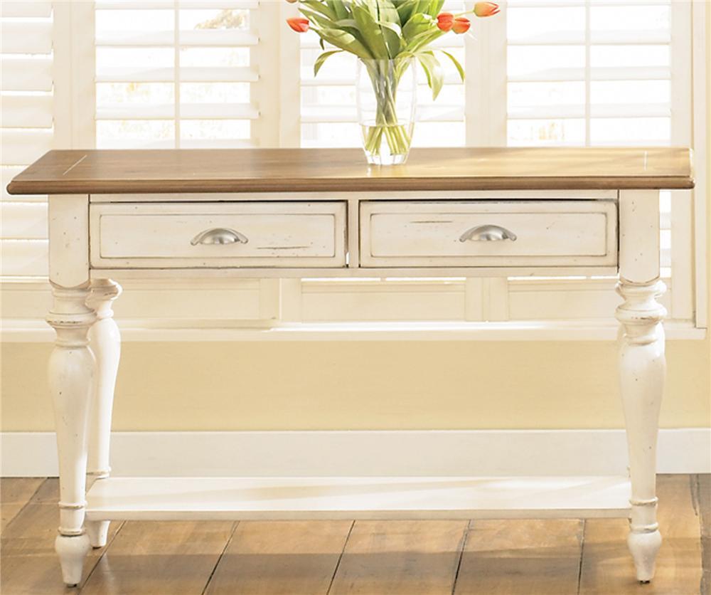 Ocean Isle  Sofa Table by Liberty Furniture at Lapeer Furniture & Mattress Center