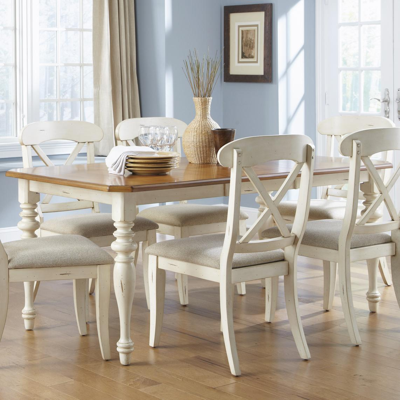 Ocean Isle  Rectangular Leg Dining Table by Liberty Furniture at Lapeer Furniture & Mattress Center