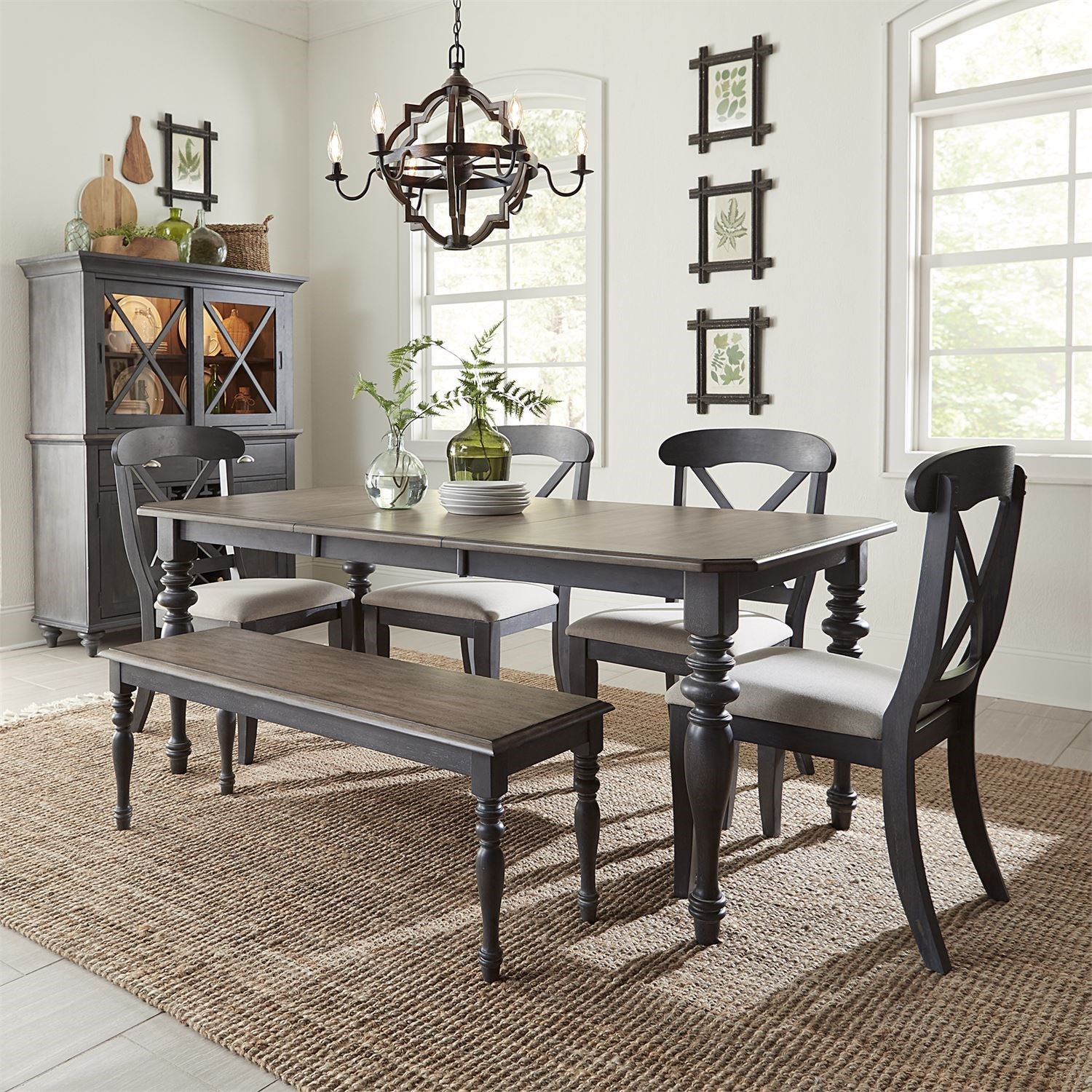 Ocean Isle Dining Room Group by Liberty Furniture at Northeast Factory Direct