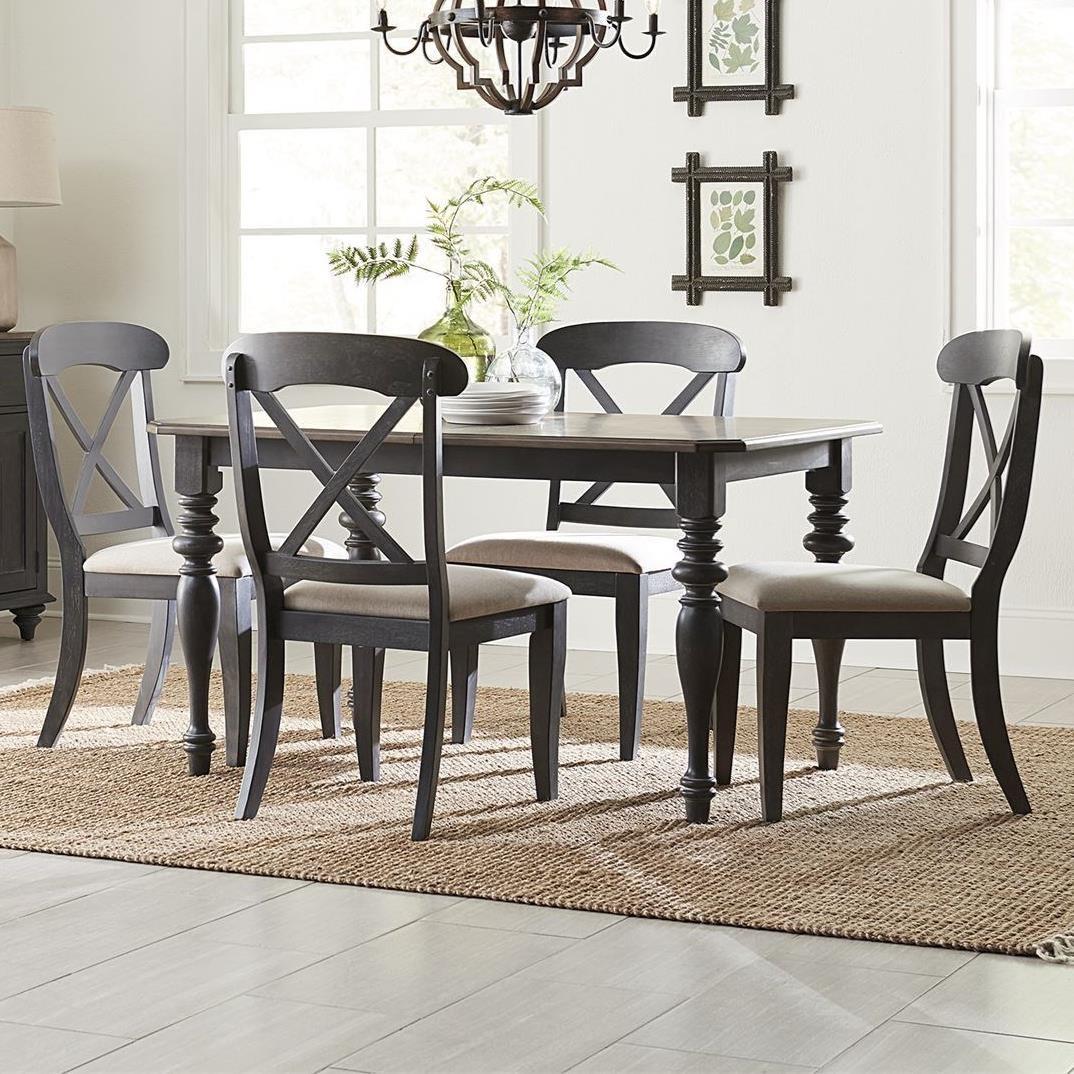 Ocean Isle 5-Piece Rectangular Table Set by Liberty Furniture at Johnny Janosik