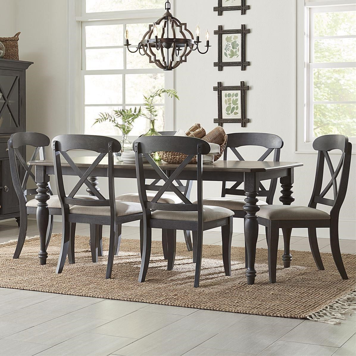 Ocean Isle 7-Piece Rectangular Table Set by Liberty Furniture at Northeast Factory Direct