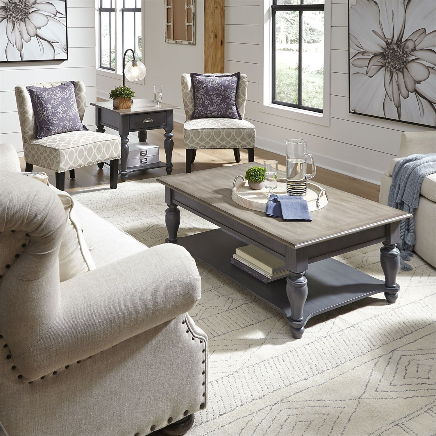 Ocean Isle 3-Piece Occasional Table Set by Liberty Furniture at Johnny Janosik