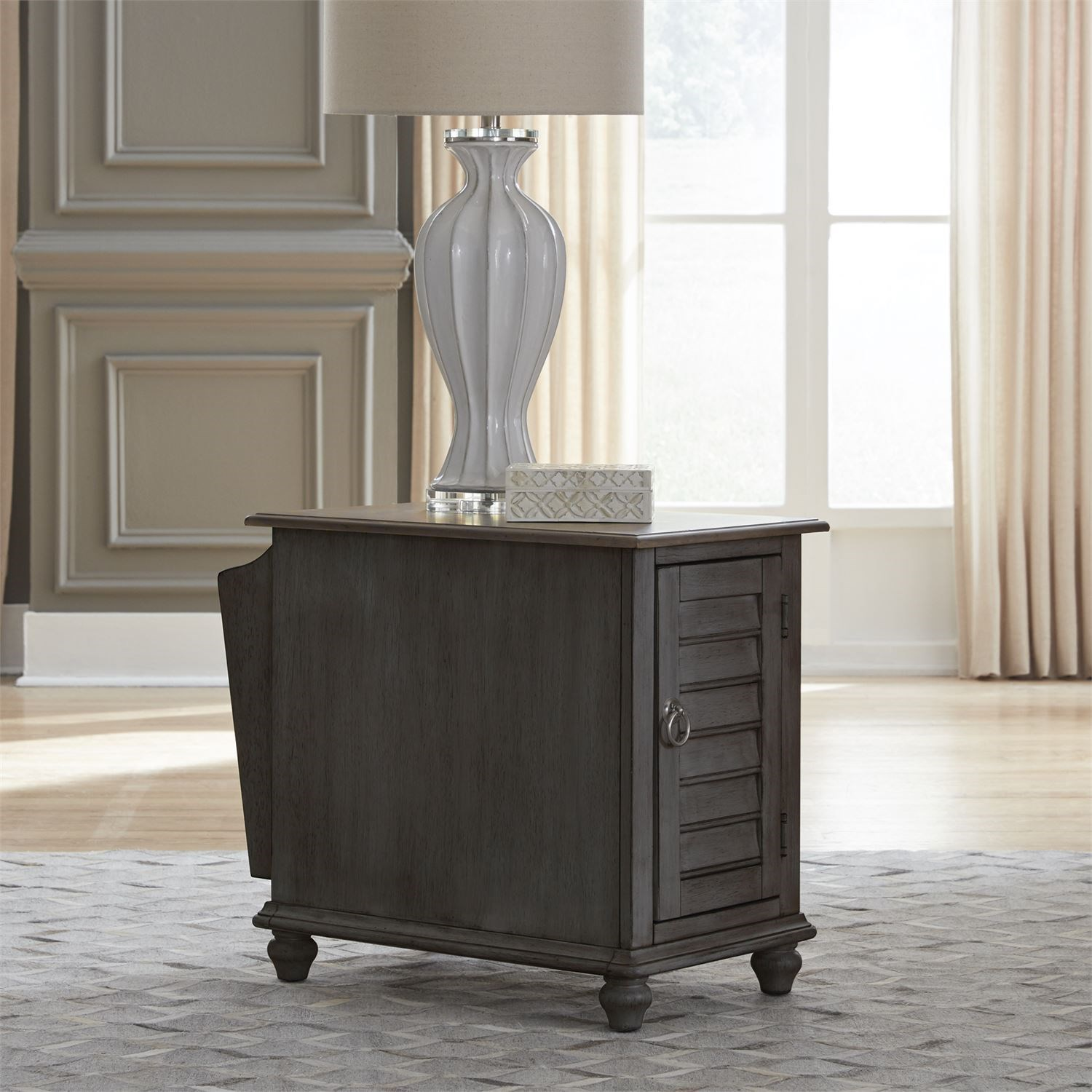 Ocean Isle Chairside Table by Liberty Furniture at Darvin Furniture